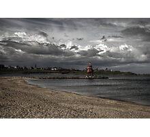 Groyne Lighthouse Photographic Print