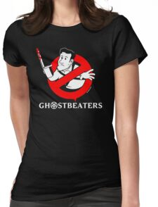 """The """"Real"""" Ghost Beaters Womens Fitted T-Shirt"""