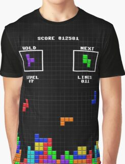Tetris Graphic T-Shirt