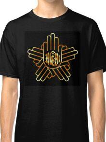 Symbol of Jainism in gold  Classic T-Shirt