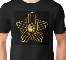 Symbol of Jainism in gold  Unisex T-Shirt