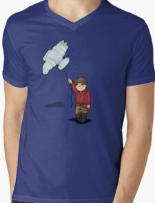 little captain Mens V-Neck T-Shirt