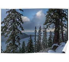 A Winter View - Emerald Bay Road Poster