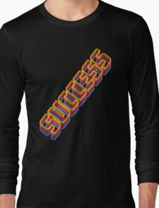 Success in Retro Long Sleeve T-Shirt