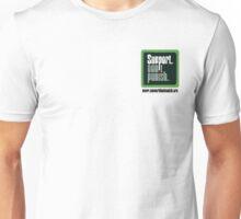 Support Don't Punish (small logo) Unisex T-Shirt