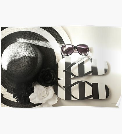 ....black and white........summer story......... Poster