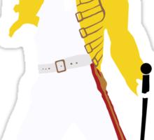 Freddie Mercury Minimal Design Sticker