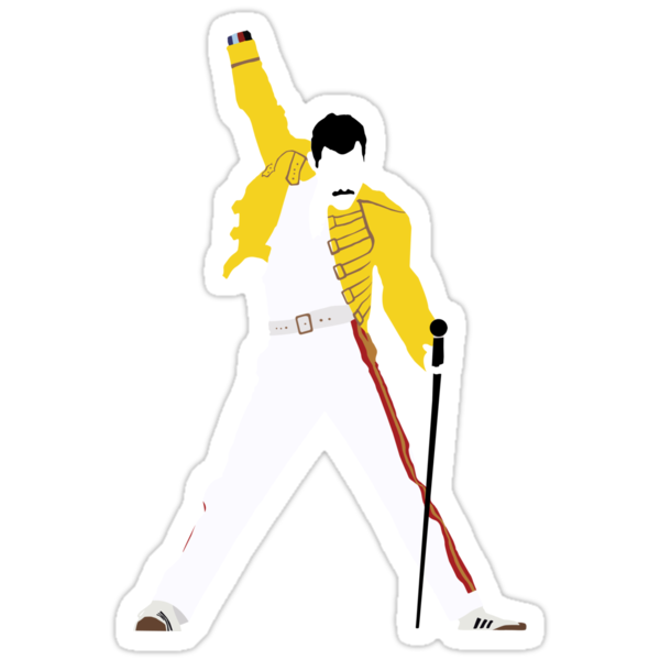 Freddie Mercury Minimal Design by Posteritty