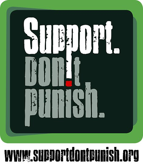 Support Don't Punish (large logo) by SDPcampaign