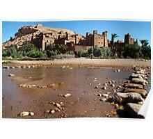 Kasbah in Skoura Morocco Poster