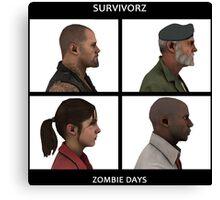 Left 4 Dead: Zombie Days Canvas Print