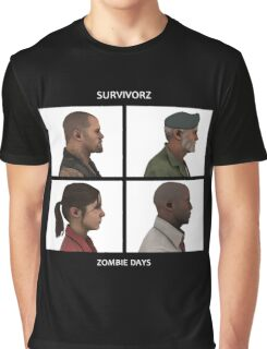 Left 4 Dead: Zombie Days Graphic T-Shirt