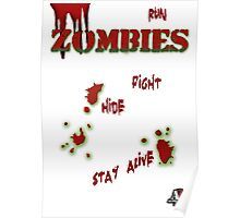 Zombies ... run! Poster