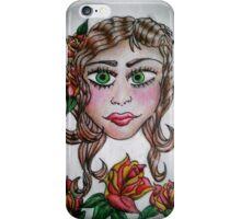 Gypsy Tattoo _ Roses iPhone Case/Skin