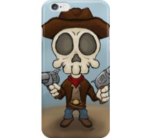 Skull Bandit iPhone Case/Skin