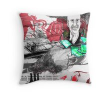 Recycled People No. 2 Throw Pillow