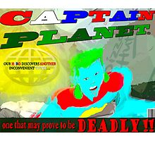 Captain InCONvenient Photographic Print