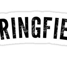 Springfield Shirt Sticker