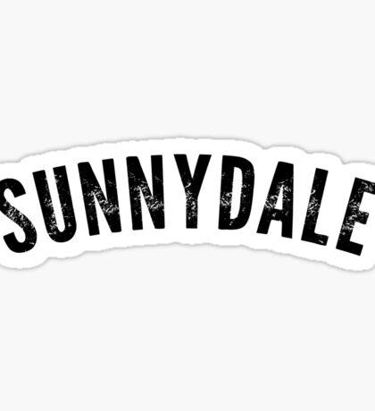 Sunnydale Shirt Sticker