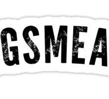 Hogsmeade Shirt Sticker