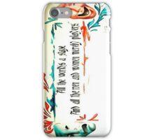 Drama, Drama iPhone Case/Skin