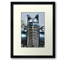 HDR - Tall Old Chevy Framed Print