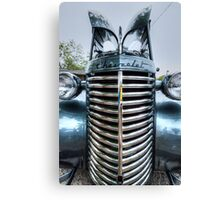 HDR - Tall Old Chevy Canvas Print