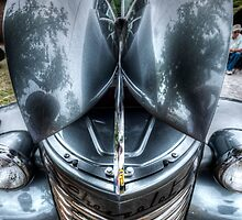 HDR - Chevy Hood Wings by Doug Greenwald