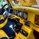 HDR - Yellow and Blue Interior by Doug Greenwald