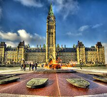 The Centennial Flame by Mikell Herrick