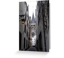 Central Cologne. 2012 Greeting Card