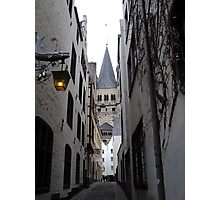 Central Cologne. 2012 Photographic Print