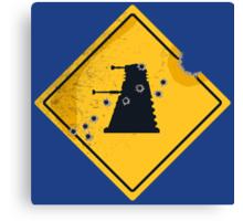 Dalek Crossing Canvas Print