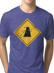 Dalek Crossing Tri-blend T-Shirt