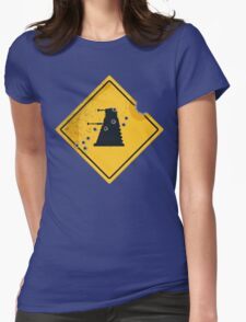 Dalek Crossing Womens Fitted T-Shirt