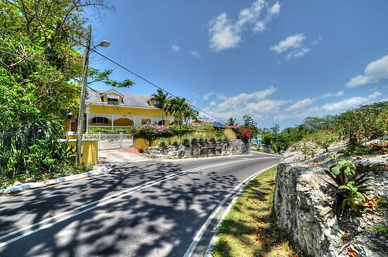 Johnson Road in Nassau, The Bahamas by 242Digital