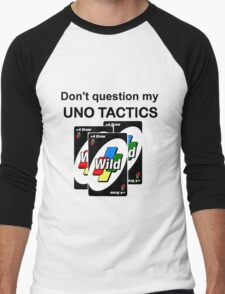 Uno Tactics Men's Baseball ¾ T-Shirt