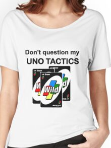 Uno Tactics Women's Relaxed Fit T-Shirt