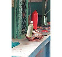 Fresh Meat?  Photographic Print