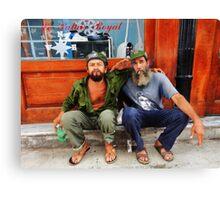 Che and Fidel  Canvas Print
