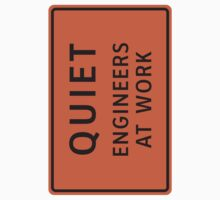 Engineers At Work (Large) by csyz ★ $1.49 stickers