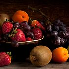 Bowl of Fruit Still Life by Jerry Deutsch