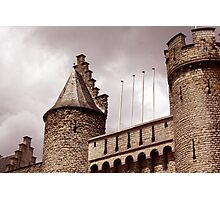 English Castle Photographic Print