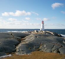 Novia Scotia 2010 - Lighthouse by MisterBphotos