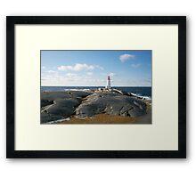 Novia Scotia 2010 - Lighthouse Framed Print