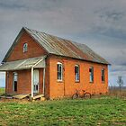 Little School House on the Prairie by wiscbackroadz