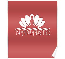 Namaste yoga Poster