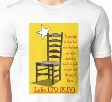 Luke 1:79 (KJV) Unisex T-Shirt