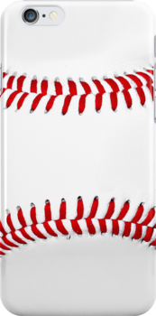 Baseball Sports Fan Cell Phone Case by TDSwhite