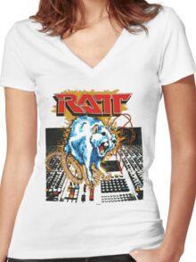 RATT 2 Women's Fitted V-Neck T-Shirt